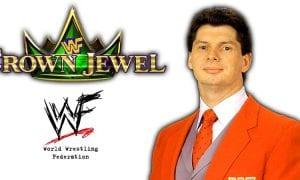 Vince McMahon WWE Crown Jewel PPV Saudi Arabia 2018
