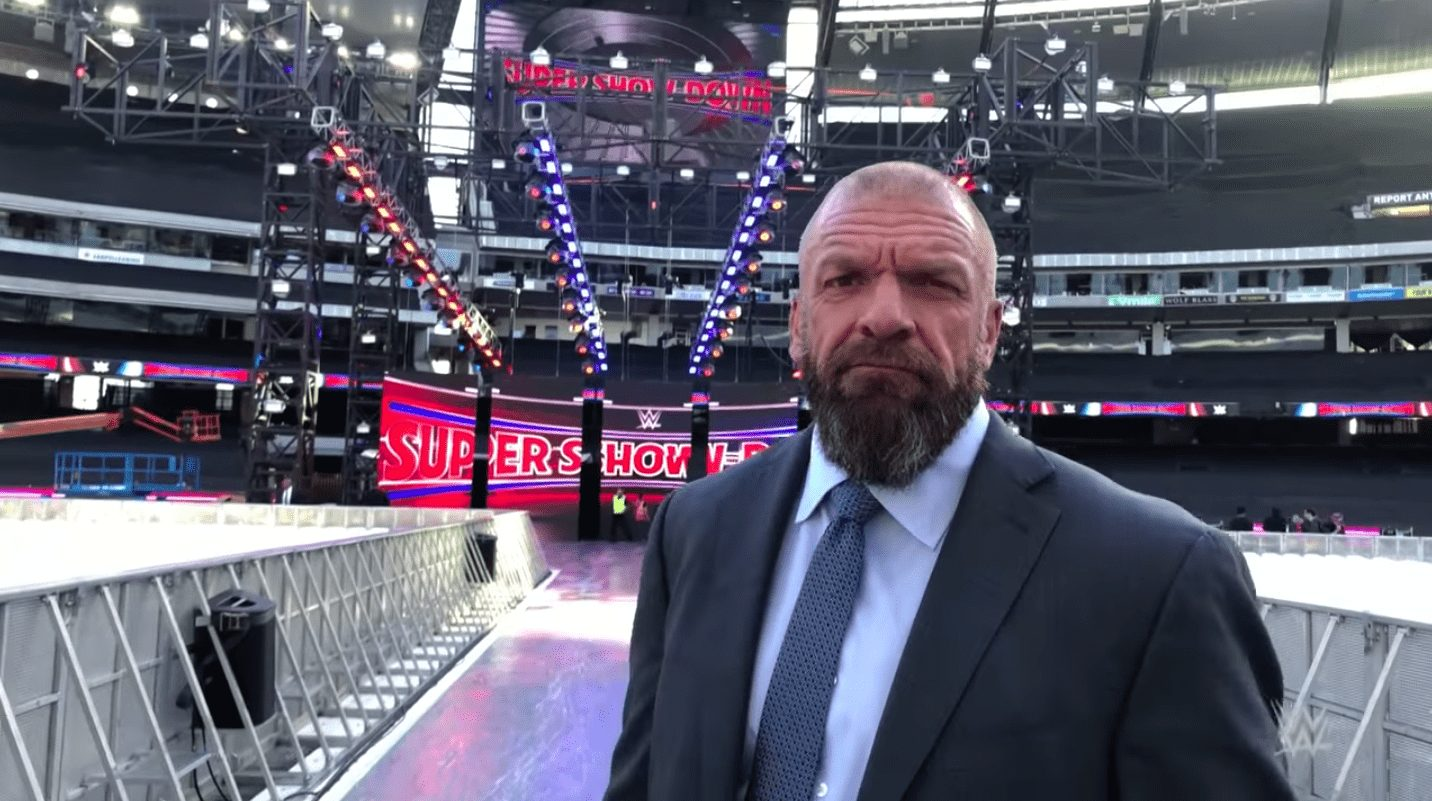 WWE Super Show-Down Stage Revealed