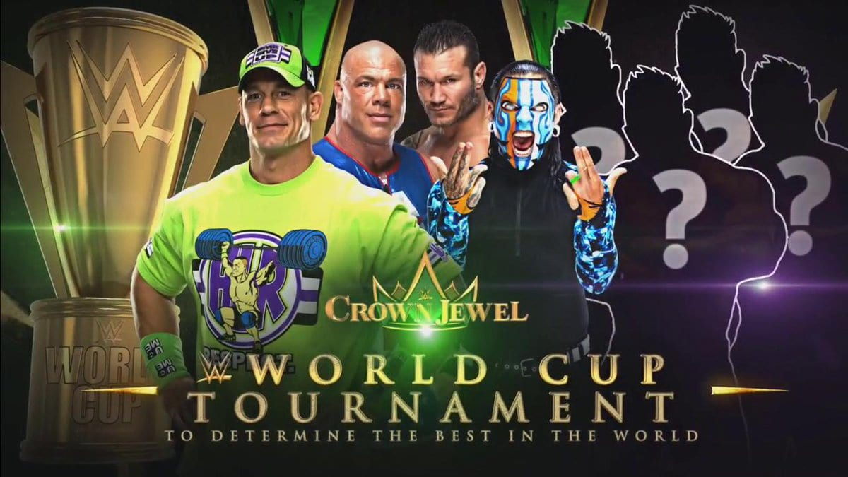 WWE World Cup John Cena Kurt Angle Randy Orton Jeff Hardy
