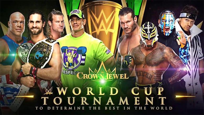 WWE World Cup RAW vs. SmackDown WWE Crown Jewel Saudi Arabia