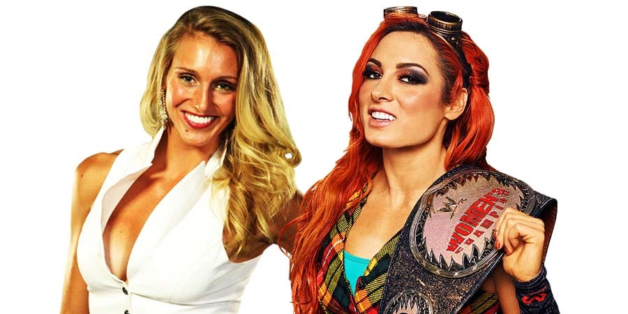 Becky Lynch Charlotte Flair 2018