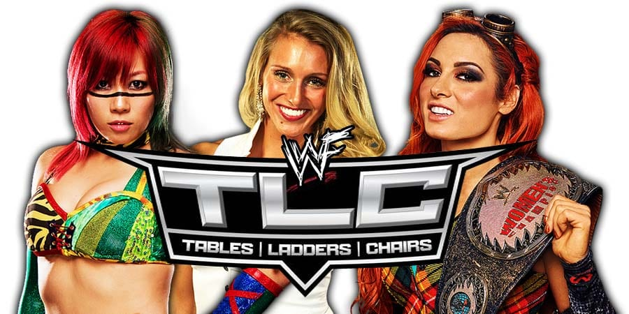 Becky Lynch vs. Charlotte Flair vs. Asuka - TLC 2018 TLC Match