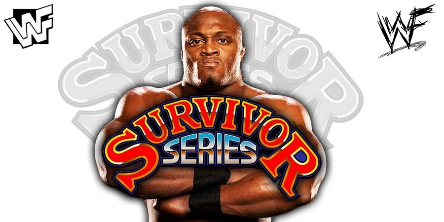 Bobby Lashley Survivor Series 2018