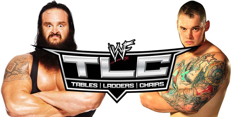 Braun Strowman vs. Baron Corbin - TLC 2018