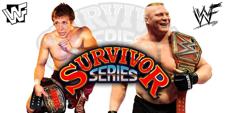 Brock Lesnar Daniel Bryan Survivor Series 2018
