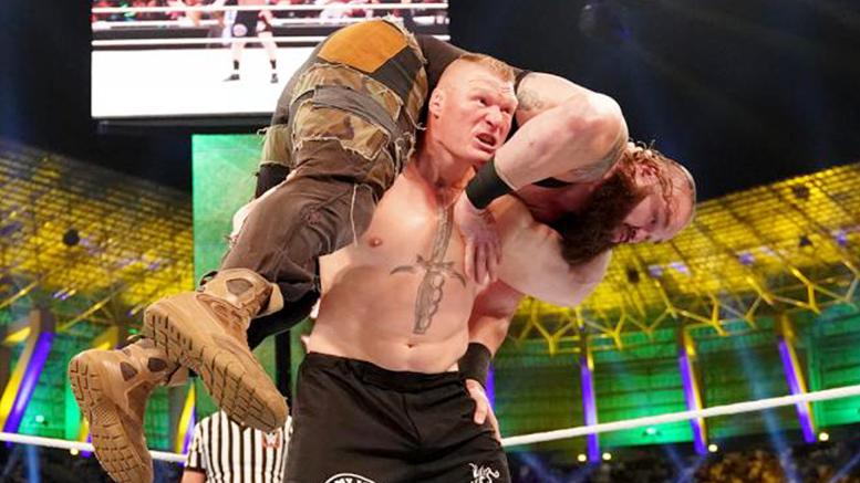 Brock Lesnar F5 Braun Strowman WWE Crown Jewel
