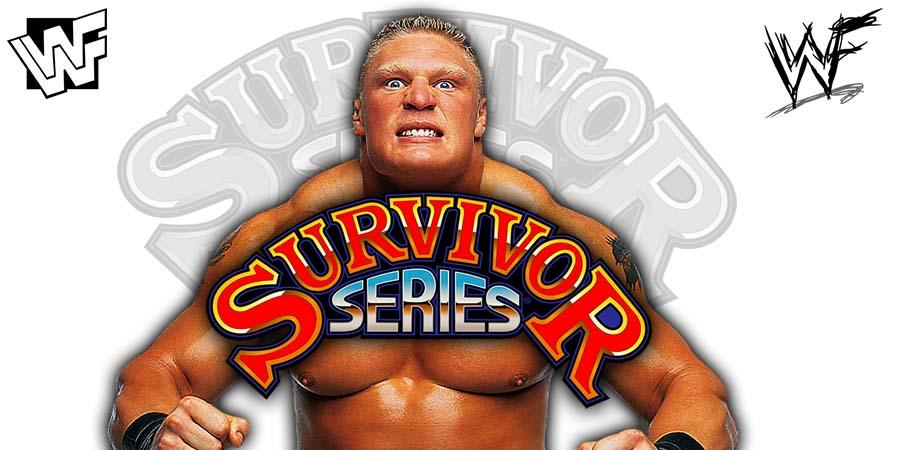 Brock Lesnar Survivor Series 2018