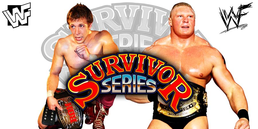 Brock Lesnar defeats Daniel Bryan at Survivor Series 2018