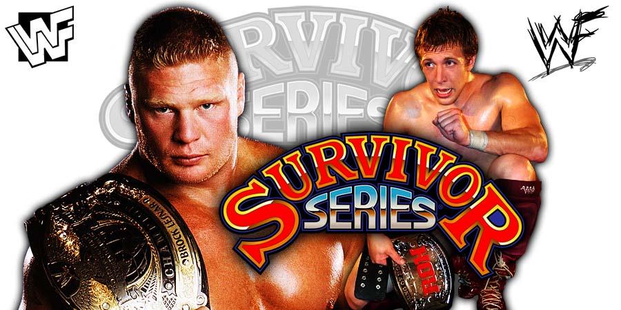 Brock Lesnar vs. Daniel Bryan - First Time Ever (Survivor Series 2018)