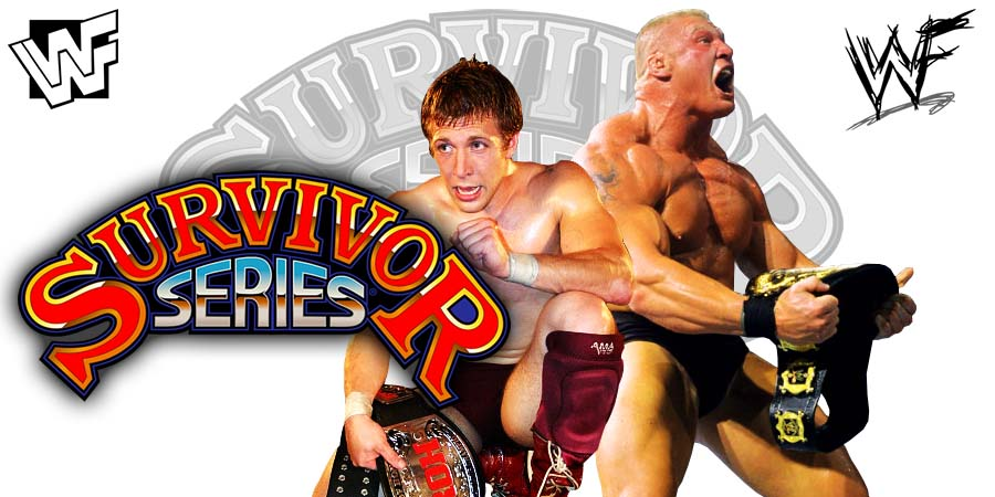 Daniel Bryan Brock Lesnar Survivor Series 2018