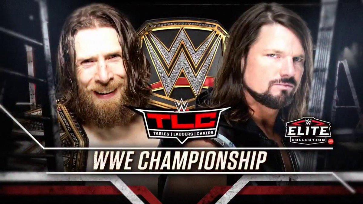Daniel Bryan vs. AJ Styles - TLC 2018 (WWE Championship Match)