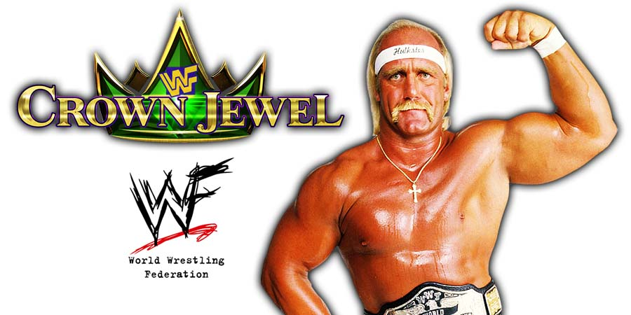 Hulk Hogan To Be The Host For WWE Crown Jewel PPV In Saudi Arabia