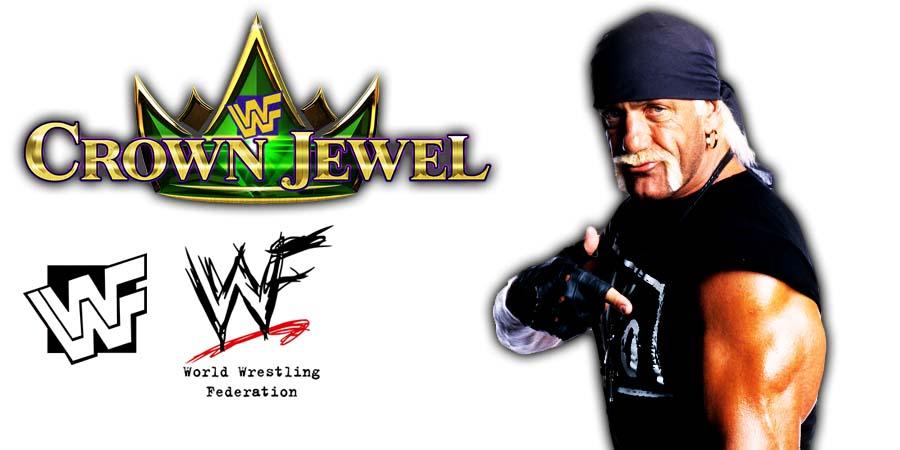 Hulk Hogan nWo WWE Crown Jewel