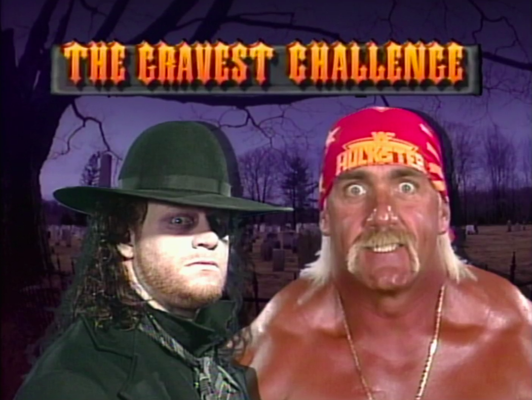 Hulk Hogan vs. The Undertaker - WWF Survivor Series 1991 (The Gravest Challenge)