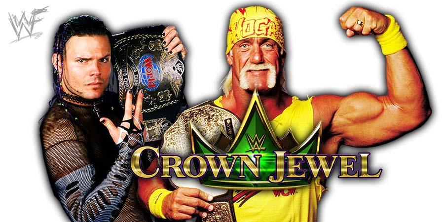 Jeff Hardy Hulk Hogan WWE Crown Jewel