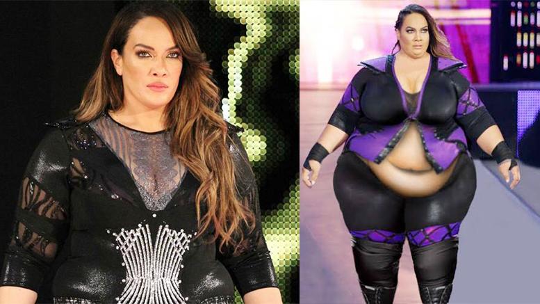 Hot nia jax WWE Raw
