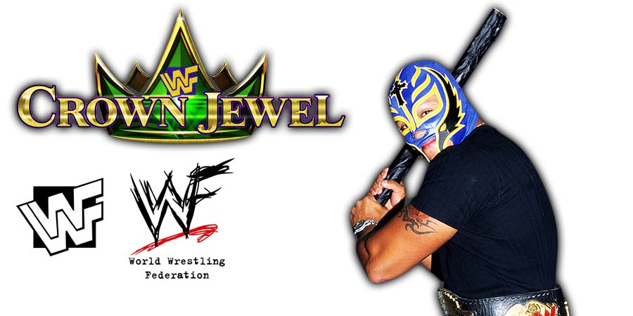 Rey Mysterio WWE Crown Jewel WWE World Cup