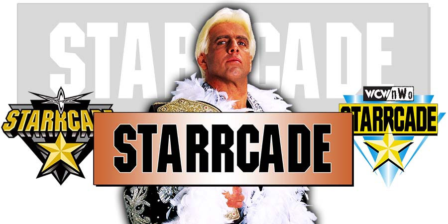 Ric Flair WWE Starrcade 2018