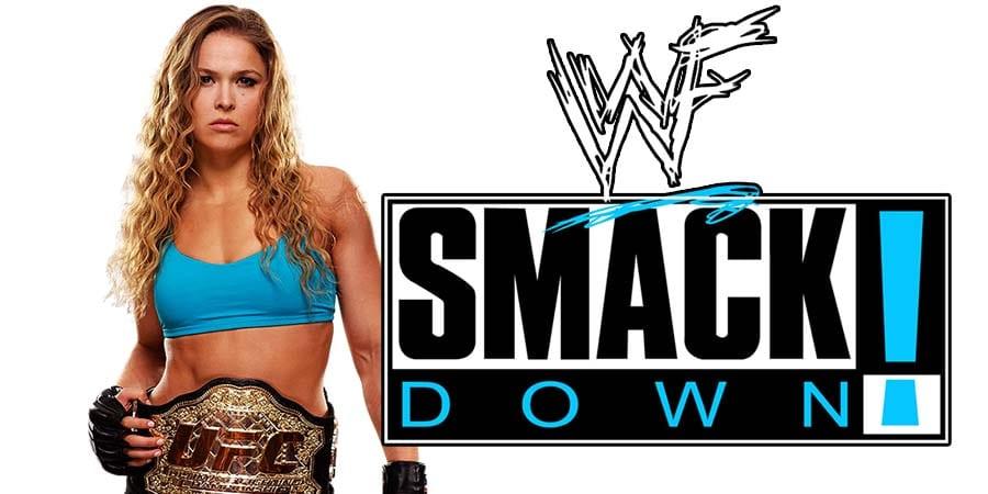 Ronda Rousey SmackDown Live FOX 2019