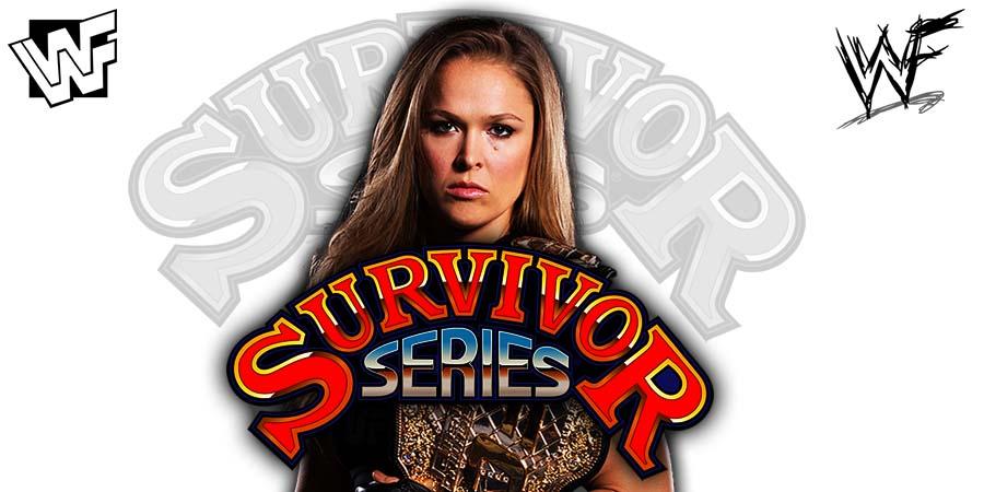 Ronda Rousey Survivor Series 2018
