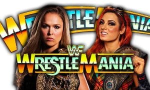 Ronda Rousey vs. Becky Lynch - WrestleMania 35