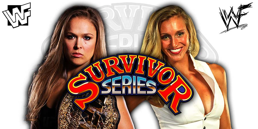 Ronda Rousey vs. Charlotte Flair - Survivor Series 2018
