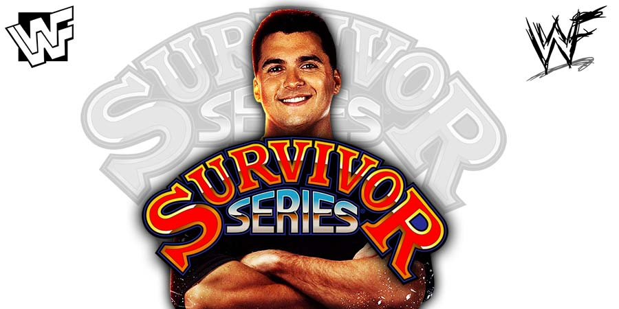 Shane McMahon Survivor Series 2018