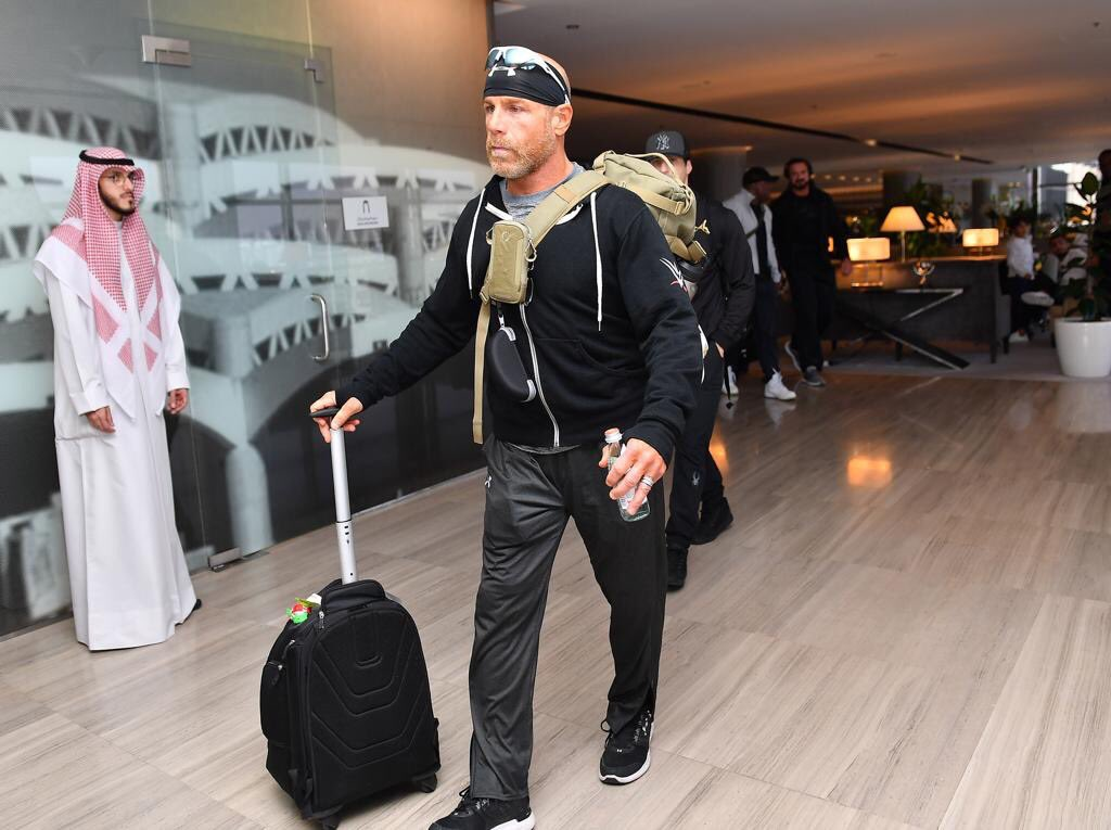 Shawn Michaels arrives in Saudi Arabia for WWE Crown Jewel 2018