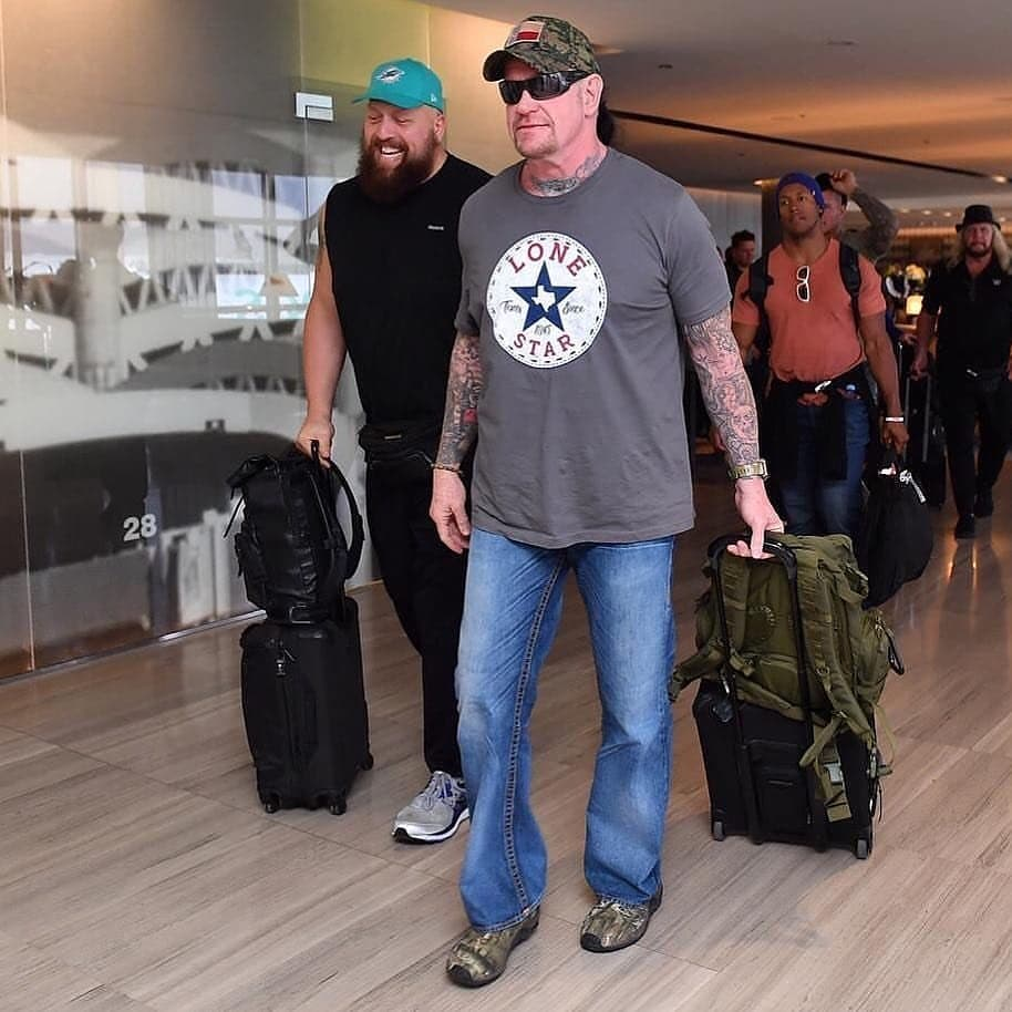 The Undertaker Arrives In Saudi Arabia For WWE Crown Jewel