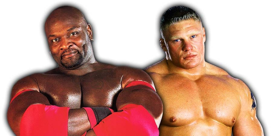 Ahmed Johnson vs. Brock Lesnar