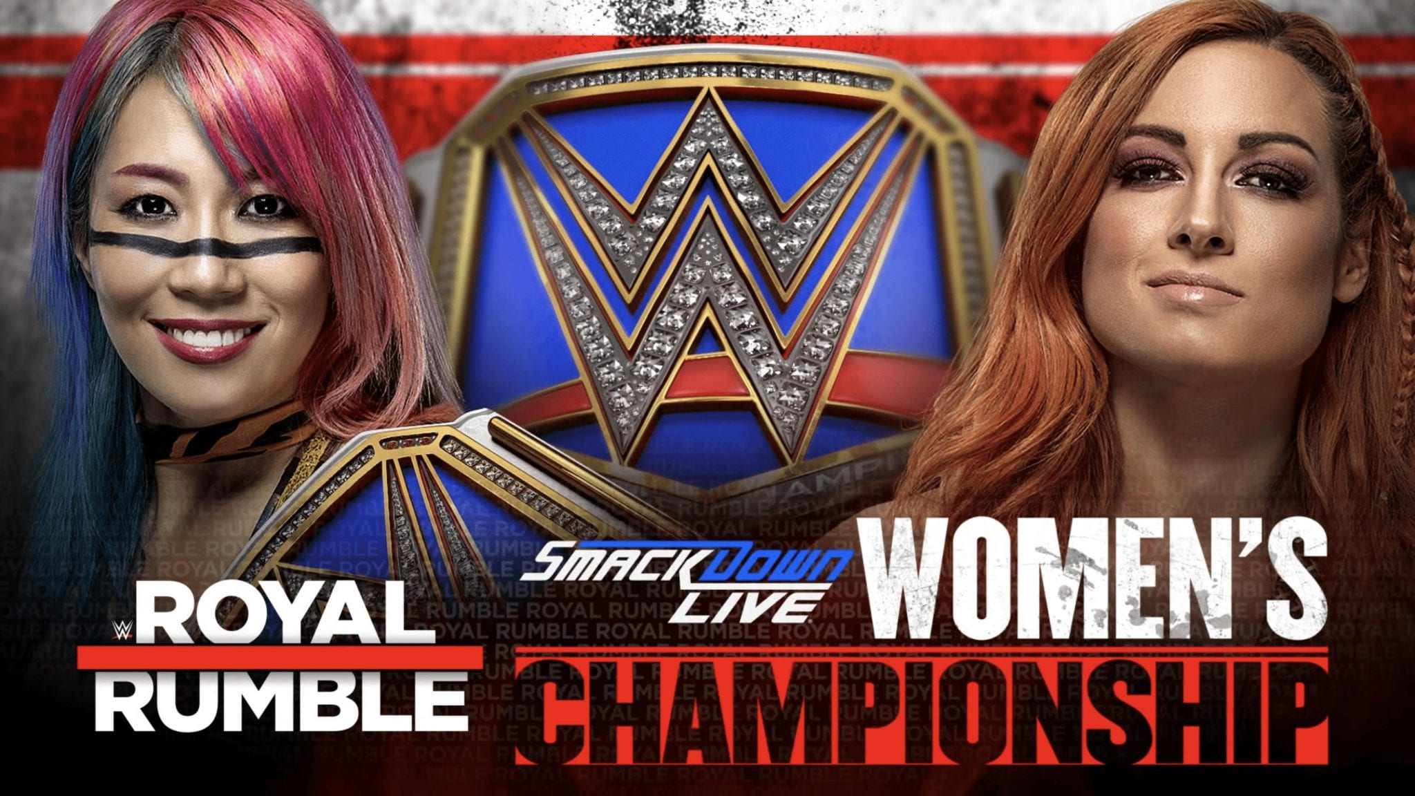 Asuka vs. Becky Lynch - Royal Rumble 2019 (SmackDown Women's Championship)