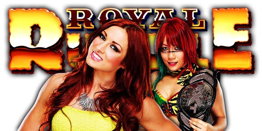 Becky Lynch vs. Asuka - SmackDown Women's Championship (Royal Rumble 2019)