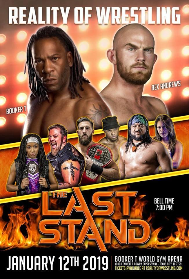 Booker T vs. Rex Andrews - 2019