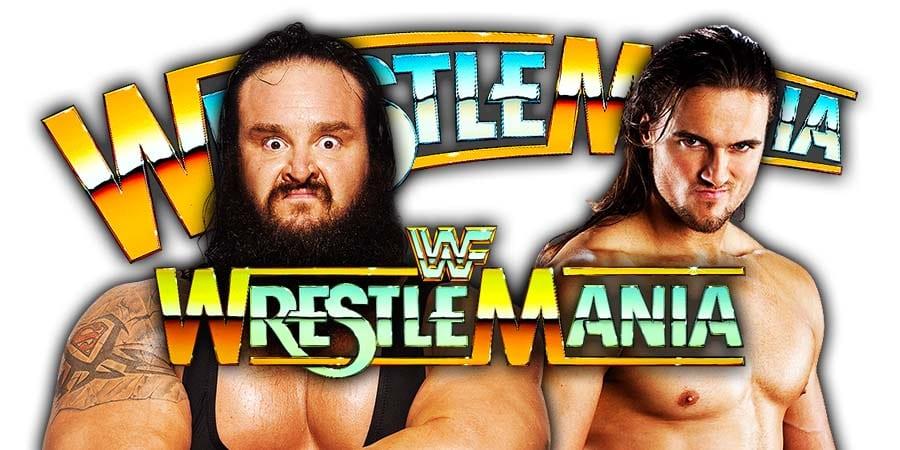 Braun Strowman vs. Drew McIntyre - WrestleMania 35