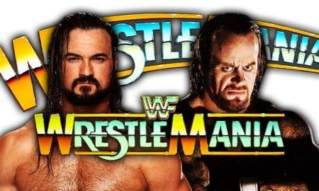 Drew McIntyre vs. The Undertaker - WrestleMania 35