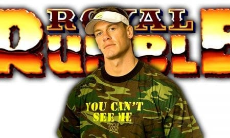 John Cena Royal Rumble 2019