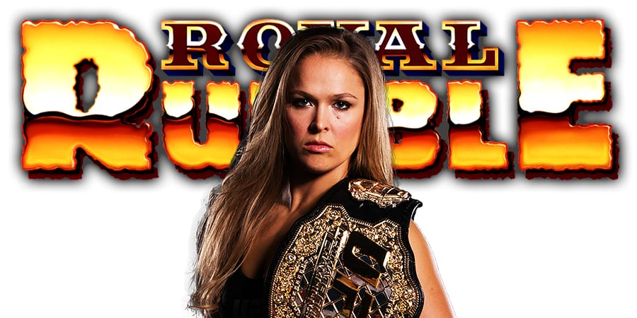 Ronda Rousey Royal Rumble 2019