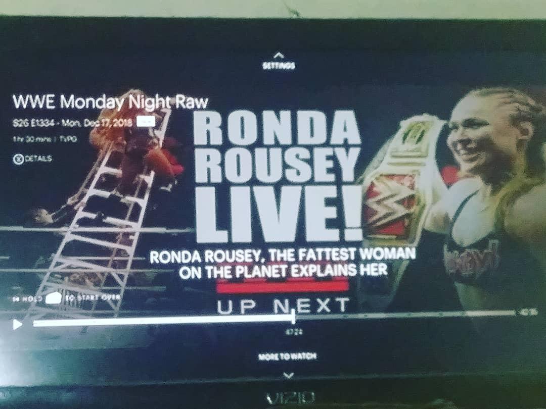 Ronda Rousey - The Fattest Woman On The Planet Hulu Botch