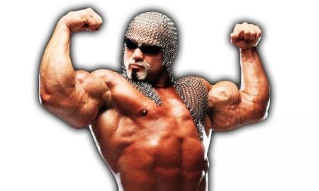 Scott Steiner Flexing WWE