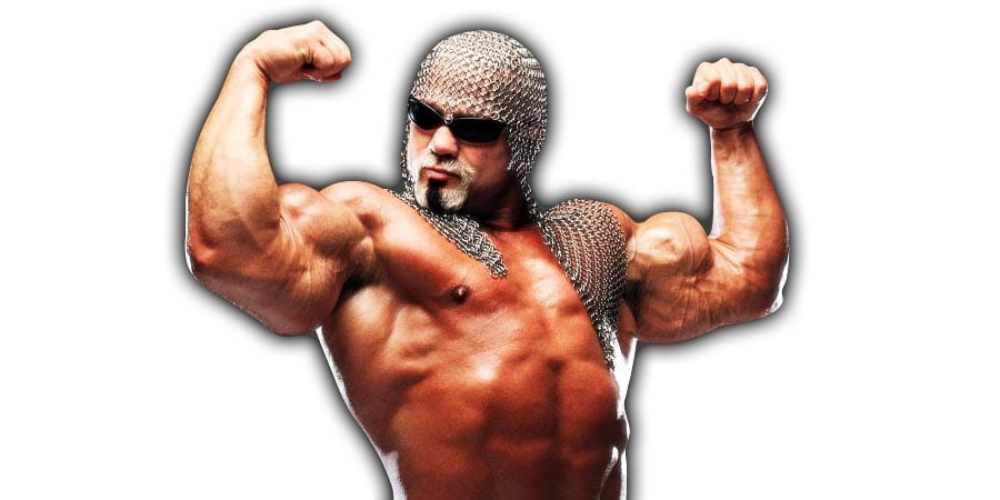 Scott Steiner Flexing WWE