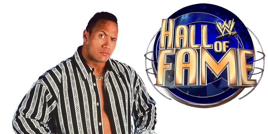 The Rock WWE Hall Of Fame
