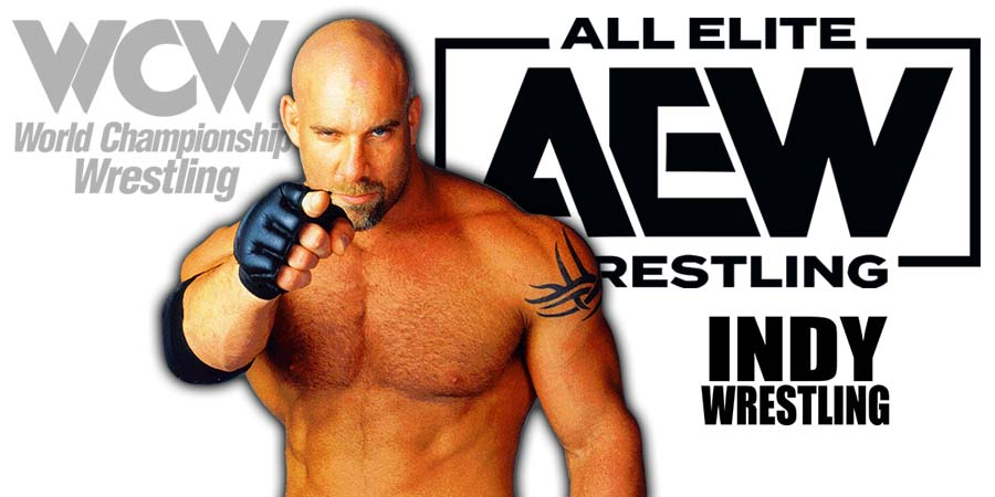 AEW All Elite Wrestling Goldberg