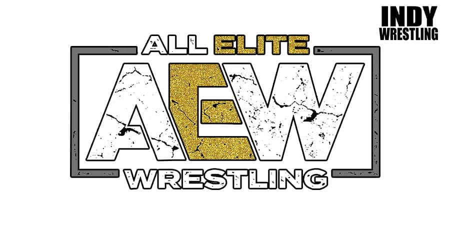 AEW All Elite Wrestling Logo