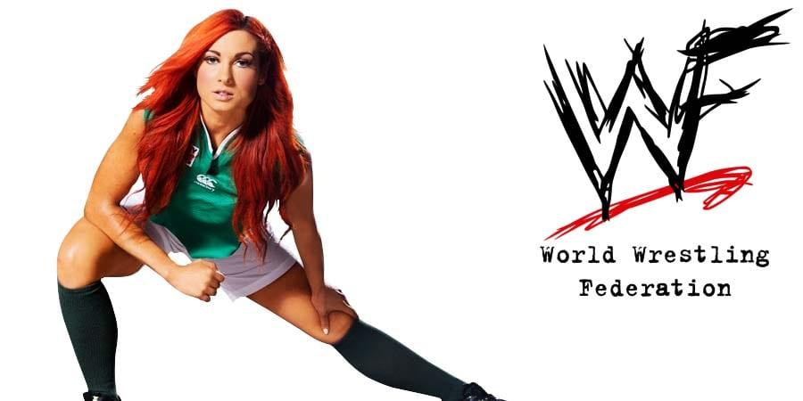 Becky Lynch The Man WWE WWF
