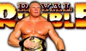 Brock Lesnar Royal Rumble 2019