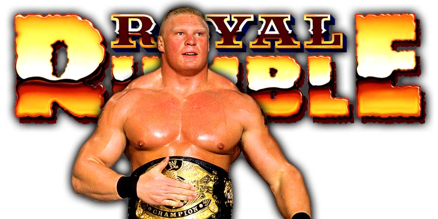 Brock Lesnar Royal Rumble 2019