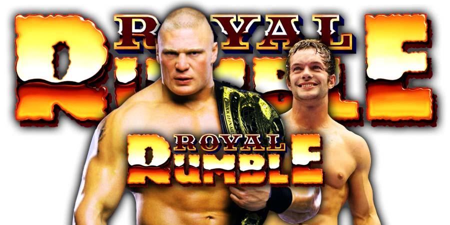 Brock Lesnar defeats Finn Balor at WWE Royal Rumble 2019