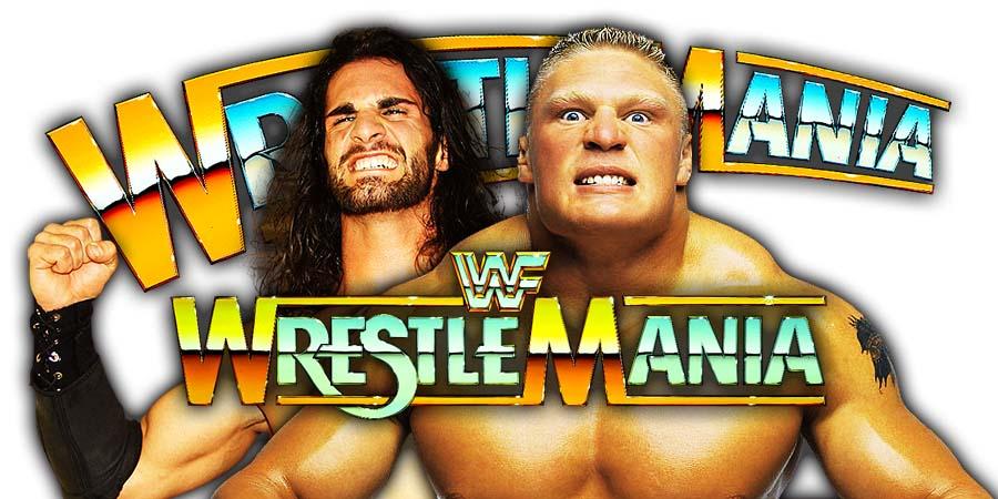 Brock Lesnar vs. Seth Rollins - WrestleMania 35