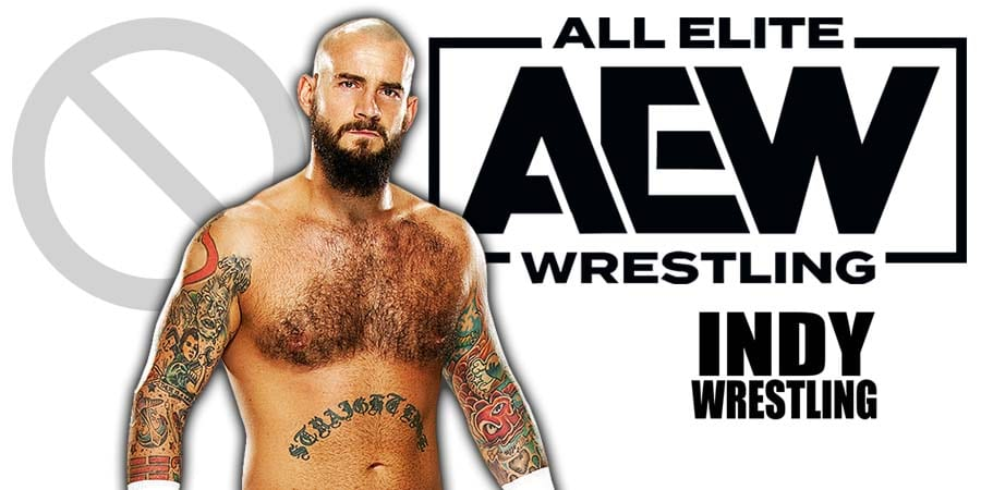 CM Punk AEW All Elite Wrestling