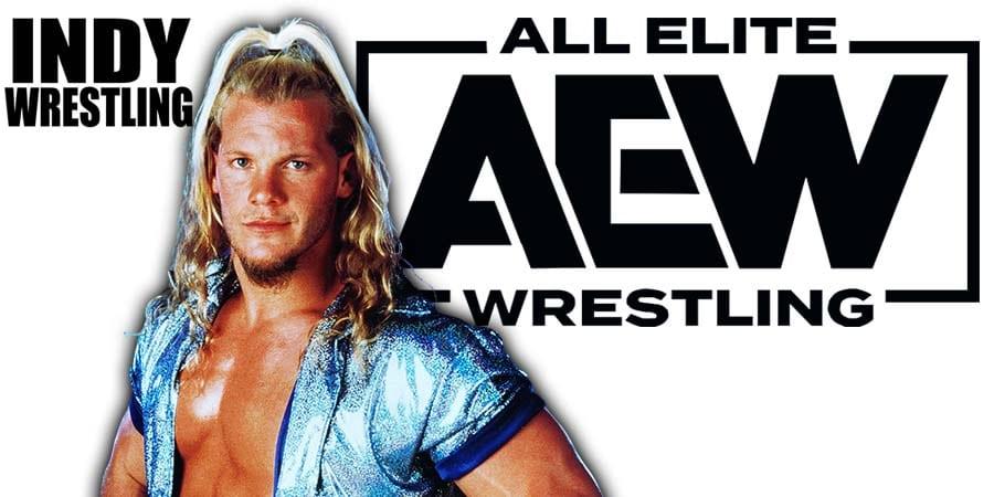 Chris Jericho All Elite Wrestling Superstar